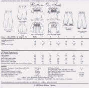 Chery Williams Patterns Button-on Suits