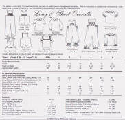 Chery Williams Patterns Long and Short Overalls