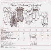 Chery Williams Patterns Child's Knickers and Jumpsuit