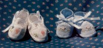 Smocked Toe Booties by Diane Jensen
